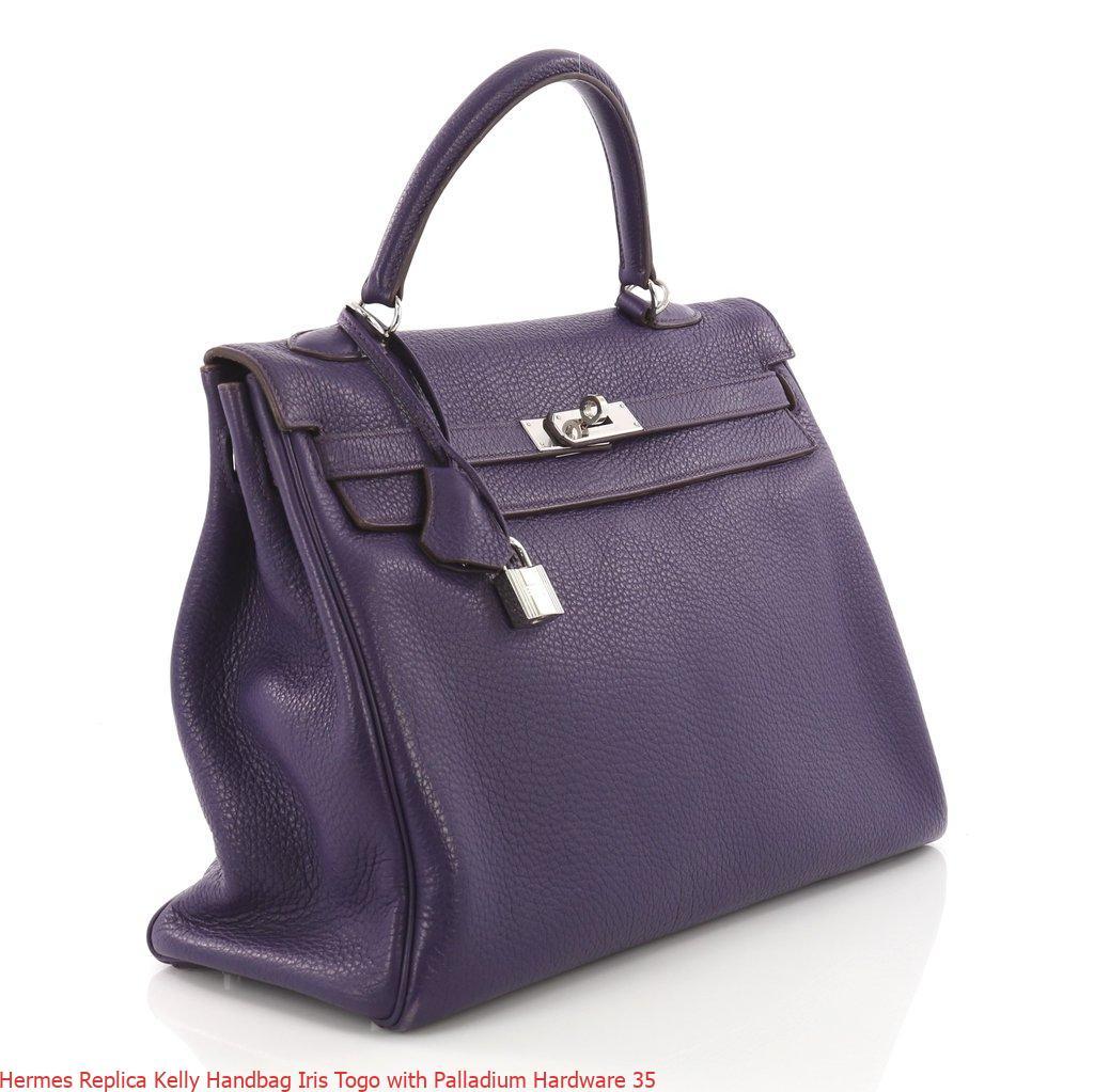 09ed3c330a1e Hermes Replica Kelly Handbag Iris Togo with Palladium Hardware 35 – Replica  Hermes Birkin Handbags