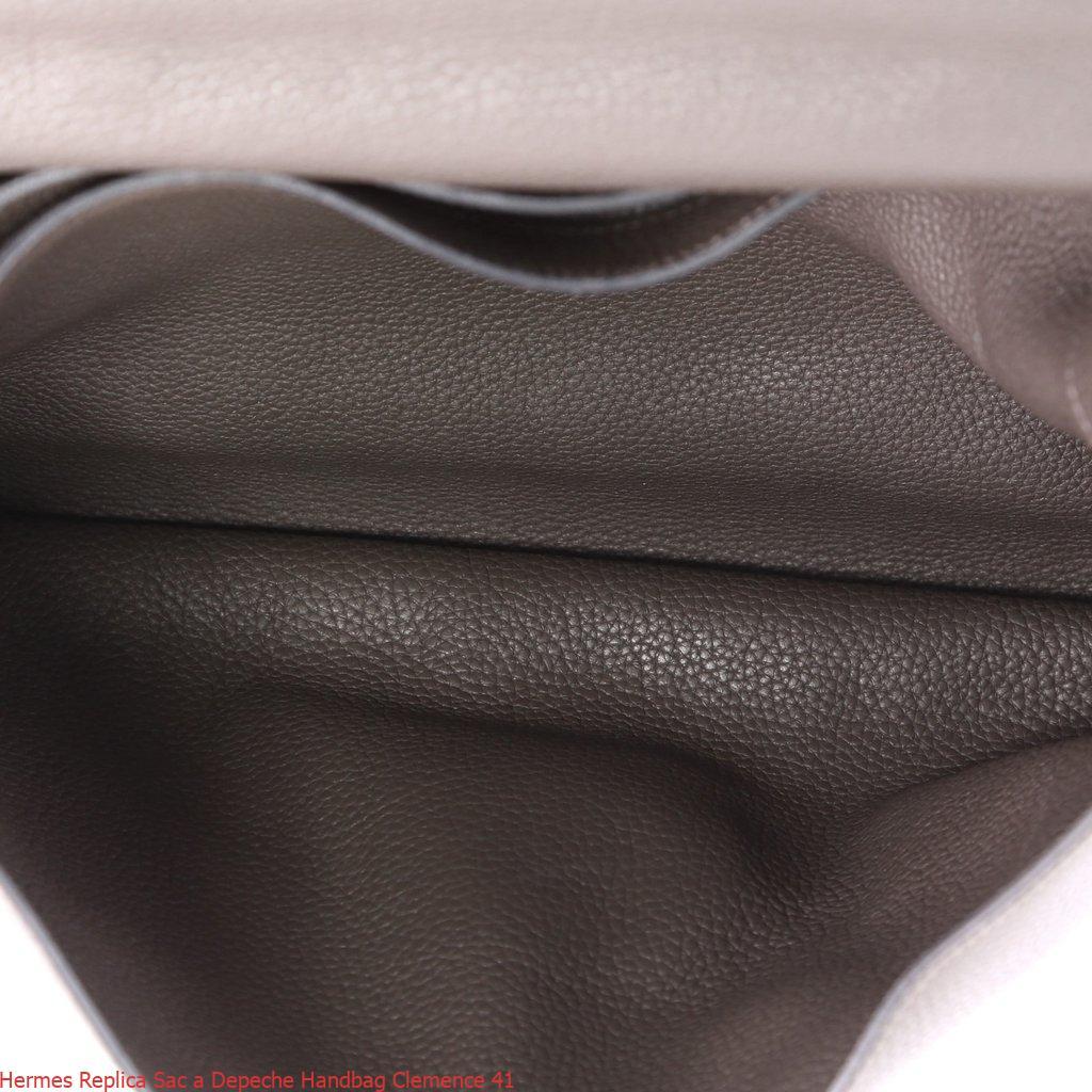 deecf3400ca7 Hermes Replica Sac a Depeche Handbag Clemence 41 – Replica Hermes Birkin  Handbags, Elegant Replica Hermes Birkin Bags For Sale